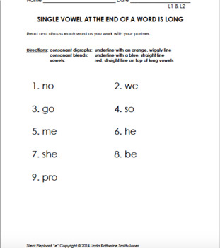 "Phonetic Reading with Silent Elephant ""e"", Part 6"