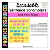 Phonetic Sentence Scramblers: Vowel Teams