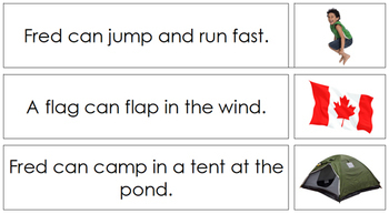 Phonetic Sentences and Pictures - Set 2