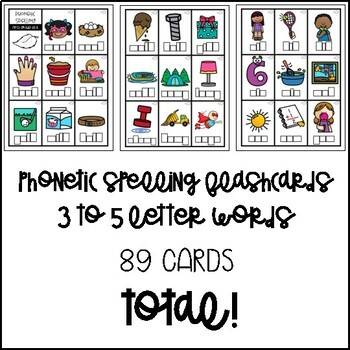 Phonetic Spelling Flashcards