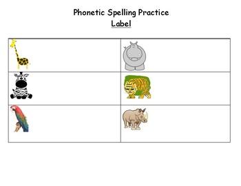 Phonetic Spelling Practice
