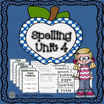 2nd Grade Spelling Unit 4