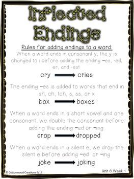 2nd Grade Spelling Unit 6