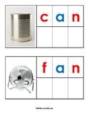 Montessori Pink Series CVC Writing Templates (60+ 3 Letter