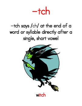 Phonetically-Controlled Words for the -tch Rule - Orton-Gi