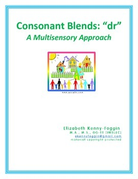 "Consonant Blend ""dr"": A Multisensory Approach"