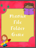 Phonic Activity Folder/Cards