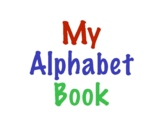 Phonic Alphabet Binder- Letter Recognition & Letter Sounds