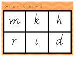 Phonic Bingo ckhermd Group 2 Jolly Phonics