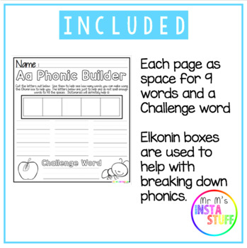 Phonic Builder - Initial Sounds - Literacy Games