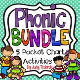 Phonic Bundle! (5 Pocket Chart Activities)