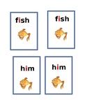 Phonic Game- Go Fish  Short i (easier)