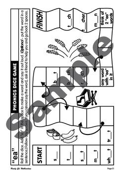 Phonic Games 18: 'ea' Sound