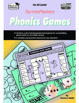 Phonic Games - Fun Board Games For Consolidating Phonic Skills