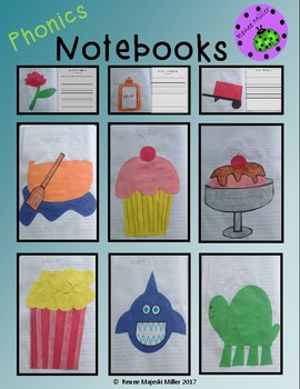 Phonic Notebooks: Free Sample Version
