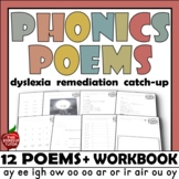Phonics Poems BOOK 1 - 12 easy read POETRY Long vowel teams blends sounds