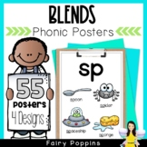 Phonic Posters- 47 Initial and Final Consonant Blends