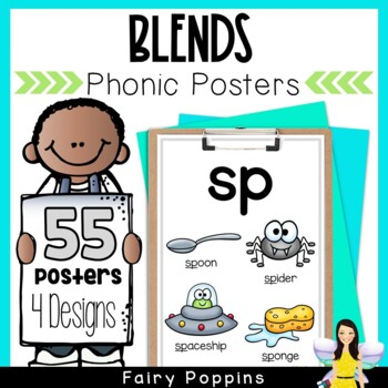Phonic Posters- Initial and Final Consonant Blends