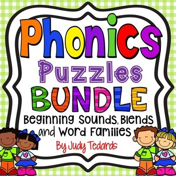 Phonic Puzzles BUNDLE