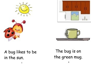 "Phonics Reader, Short ""u"", Title: The Bugs"