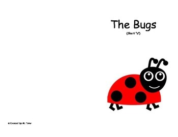 "Phonics Reader, Short ""u"", Title: The Bugs"