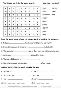 Phonics: Reading, Spelling Program For Lower Primary