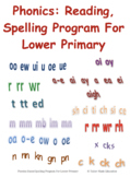Phonics: Reading, Spelling Program For Lower Primary
