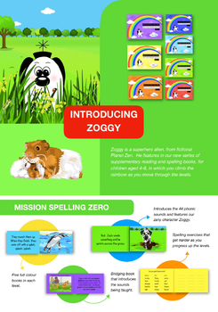 Initial Sounds And Three Letter Words (Zoggy Has A Picnic) Pack 2