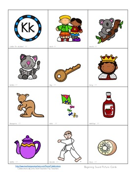 Phonic's Homework Packet ( Colored Pictures)