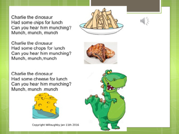 Fun with phonics. 2 songs ch and sh