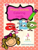 Phonic sounds coloring sheets (full set