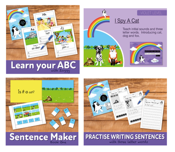 Complete Phonic Teaching Pack 1 (includes games, worksheets and activities)