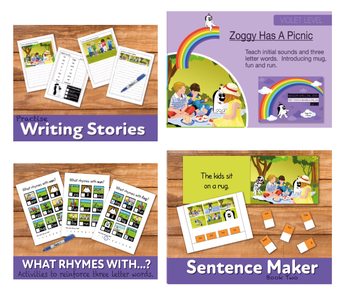 Complete Phonic Teaching Pack 2 (includes games, worksheets and activities)