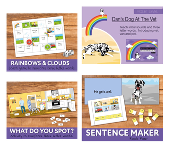Complete Phonic teaching pack 4 (includes games, worksheets and activities)