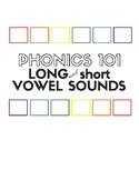 Phonics 101: Long and Short Vowel Sounds for English Langu
