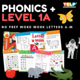Phonics (1A) Level 1 - Recognise and identify the letters of the alphabet