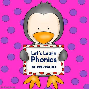 Phonics - Letter Sounds, Rhyming, CVC Words, Digraphs & More! (Kindergarten)