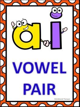 Phonics: Vowel Pair AI (No Prep Worksheets)