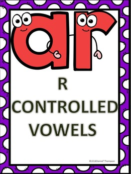 Phonics: R-Controlled Vowels AR (No Prep Worksheets)