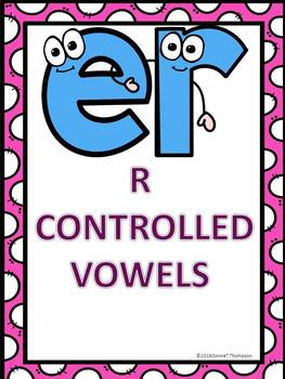 Phonics: R-Controlled Vowels ER (No Prep Worksheets)