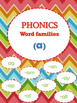 Phonics (a) word family