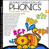 Phonics - 3-S BLENDS - Reading Foundation with Phonics (SC