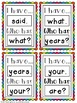 Phonics: 3rd Grade I have...Who Has? Trick Words