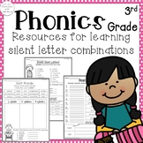 3rd Grade Phonics: Resources for learning silent letter combinations