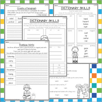 3rd grade Phonics: Resources for schwa and dictionary skills