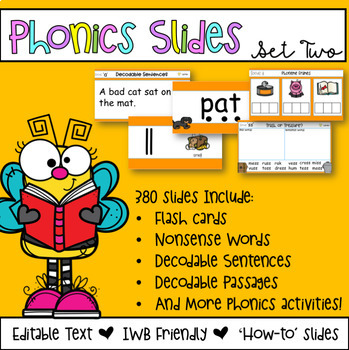 Editable Phonics PowerPoint Slides - Set Two