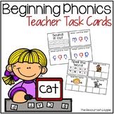 Beginning Phonics Task Cards
