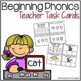 Beginning Phonics Task Cards
