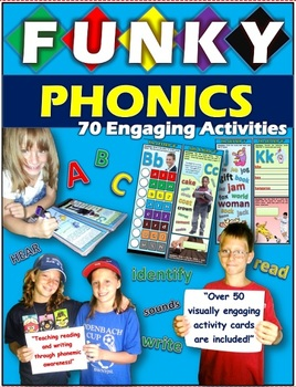 Phonics: 70 Engaging Activity Cards & Workbook
