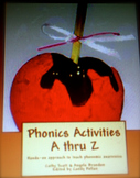 Phonics Activities A thru Z